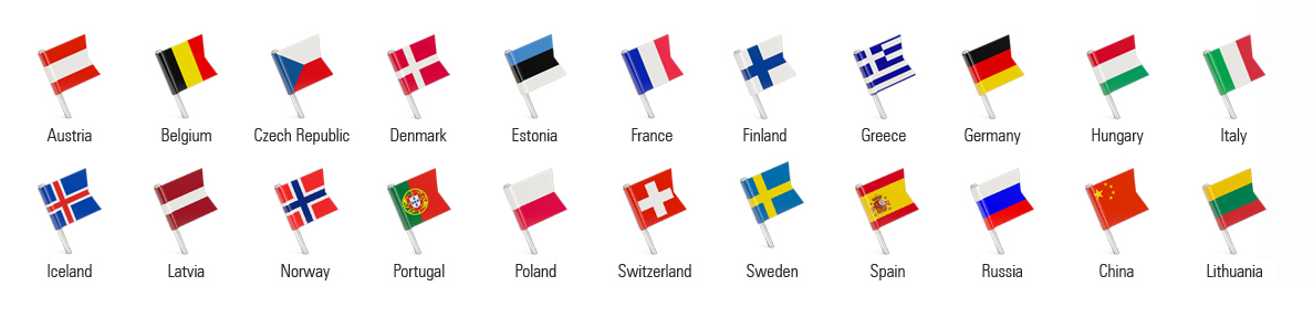 Abroad Visa Point - Countries Flags